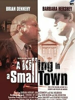 A Killing In a Small Town tv poster