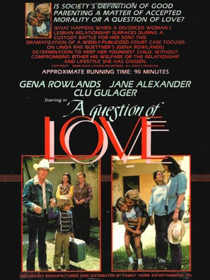 A Question of Love - tv movie poster