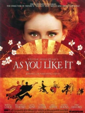 As You Like It tv movie poster