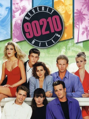 Beverly Hills 90210 tv poster