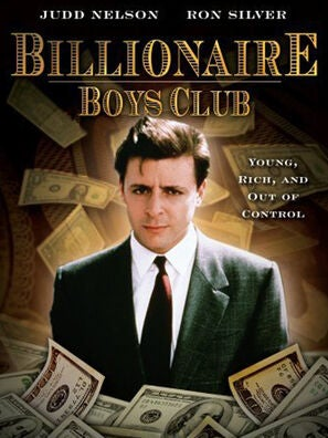 """Billionaire Boys Club"" movie poster"