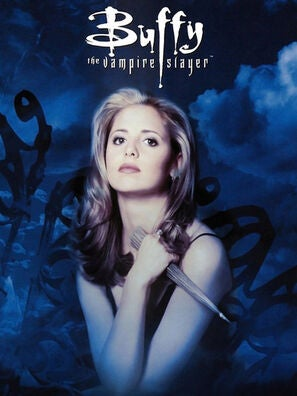 Buffy the Vampire Slayer tv series poster