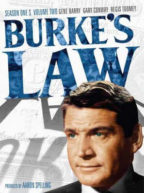 Burke's Law tv poster