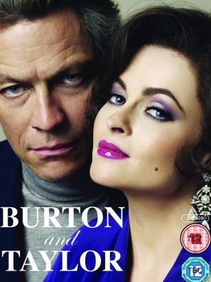 Burton and Taylor TV poster