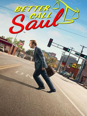 Poster from season 2 of the AMC series Better Call Saul