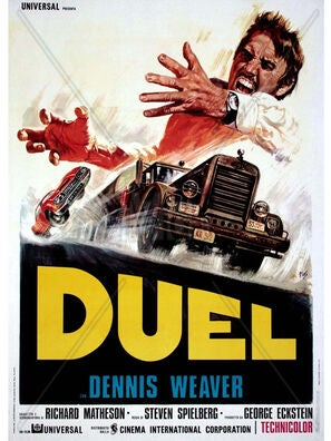 Duel tv movie poster