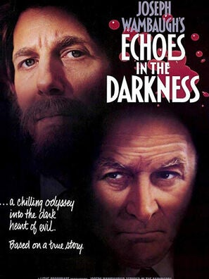 """""""Echoes in the Darkness"""" tv movie poster"""