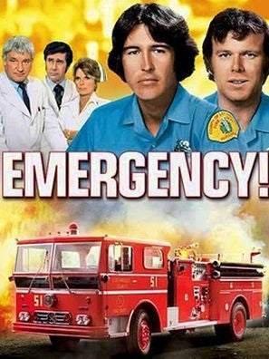 Emergency tv series poster