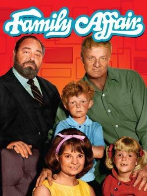 Family Affair tv series poster