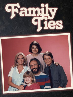 Family Ties tv poster