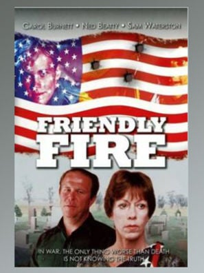 Friendly Fire tv movie poster