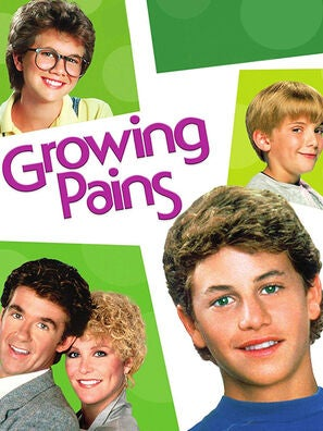 """Growing Pains"" tv poster"