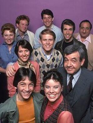 Happy Days tv poster