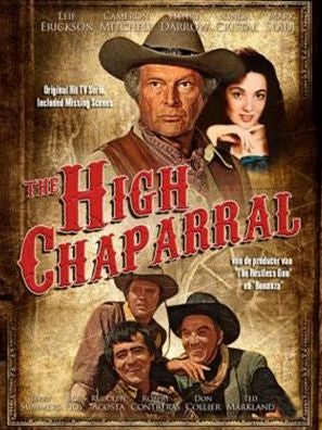 High Chaparral tv movie poster