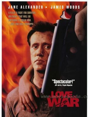 In Love and War tv movie poster