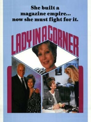 Lady In a Corner poster