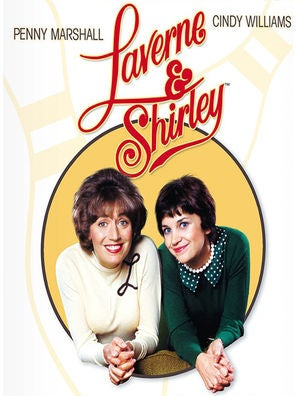 Laverne & Shirley tv series poster