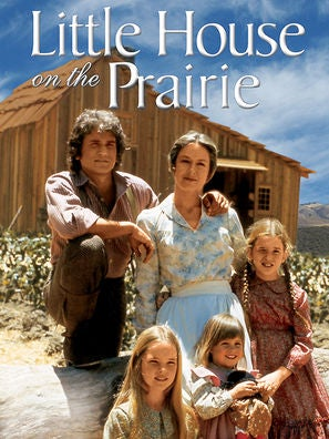 Little House on the Prairie tv poster