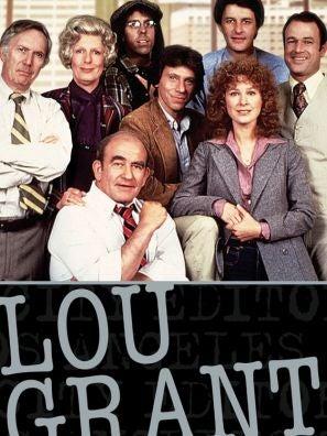 Lou Grant tv series poster