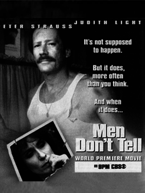 Men Don't Tell tv Movie poster
