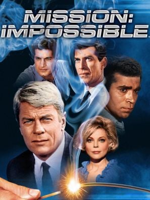 Mission: Impossible TV poster