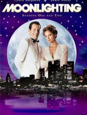 Moonlighting tv poster