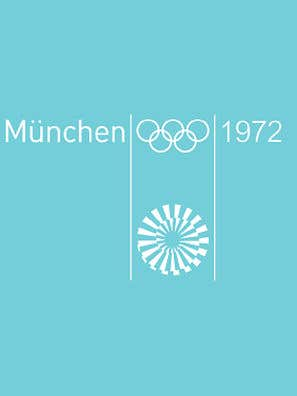 1972 Summer Olympics at Munich poster
