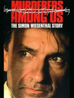 Murderers Among Us: The Simon Wiesenthal Story tv movie poster