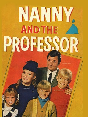 Nanny and the Professor tv poster