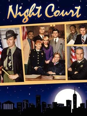 """Night Court"" tv poster"