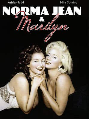 Norma Jean and Marilyn movie poster