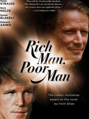 Rich Man, Poor Man movie poster