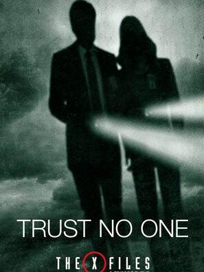 The X-Files tv show poster