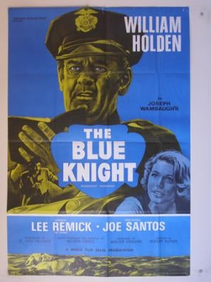 The Blue Knight movie poster
