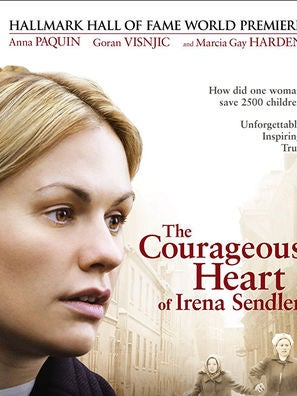 The Courageous Heart of Irena Sendler tv movie poster