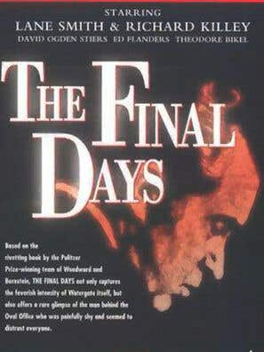 The Final Days tv movie poster