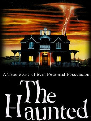 """""""The Haunted"""" tv movie poster"""