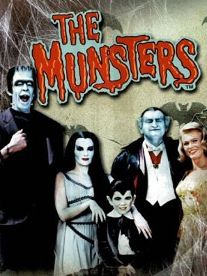 The Munsters tv series poster