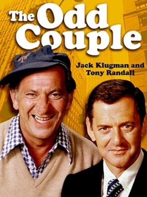 The Odd Couple (1970) tv show poster