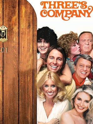 Three's Company tv series poster