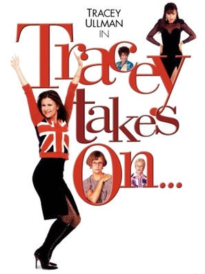 Tracey Takes On tv series poster