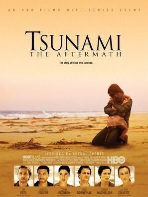 Tsunami, The Aftermath poster