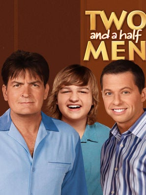 Two and a Half Men tv series poster