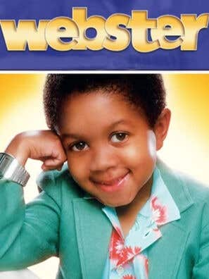 """Webster"" tv poster"