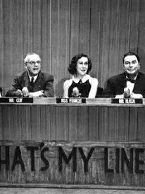 What's My Line? tv poster