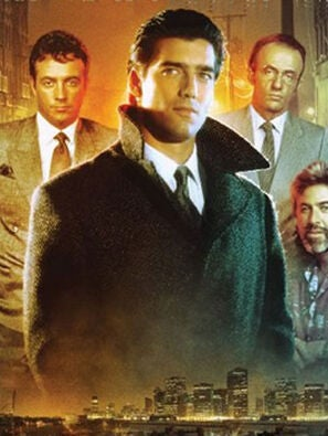 Poster from the TV series Wiseguy, Golden Globe winner