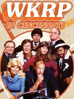 WKRP in Cincinnati tv series poster