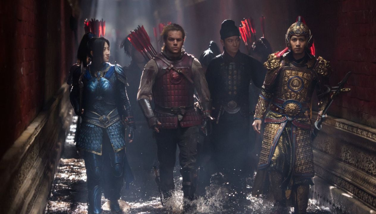 A scene from The Great Wall