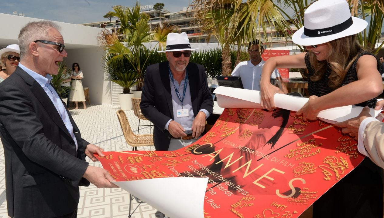 HFPA lunch in honor of the 70th Cannes Film festival