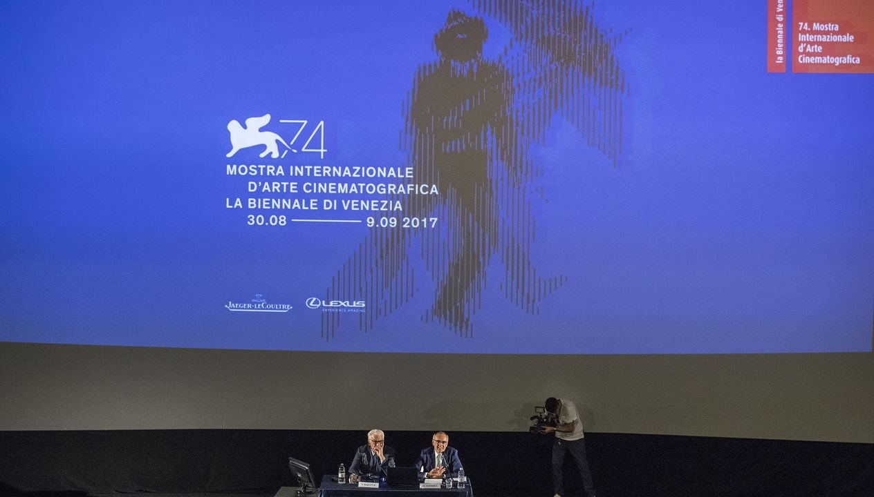 Biennale Paolo Baratta and Festival Director Alevrto Barbera announce the Venice Film Fetsival 2017